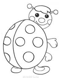 Раскраски для малышей 2 3 лет распечатать в формате А4
